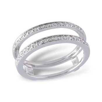 14KW Diamond Ring Guard