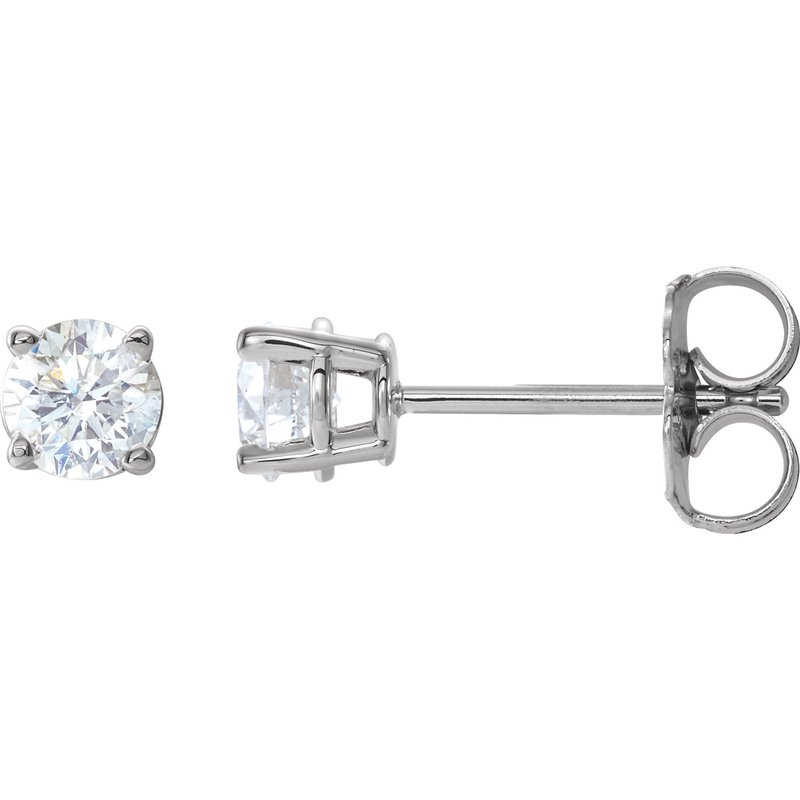 Bennett's Jewels 14KW Diamond Earrings