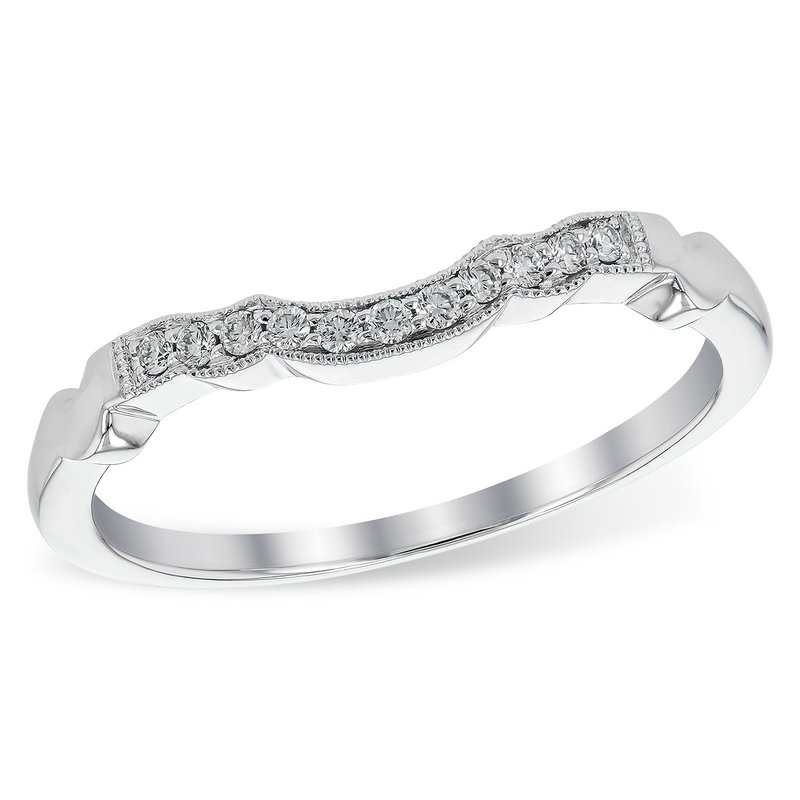 Bennett's Jewels 14KW Diamond Wedding Band