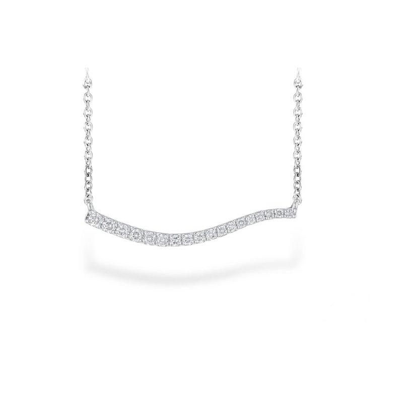 Bennett's Jewels 14KW Diamond Necklace