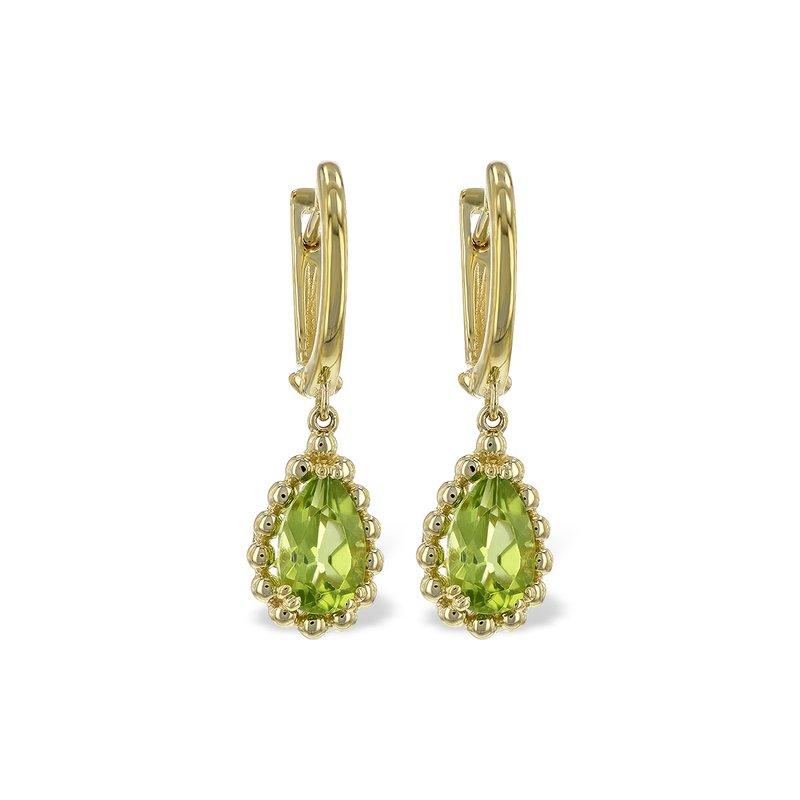 Bennett's Jewels 14KY Peridot Earrings