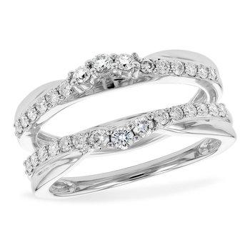 14KW Diamond Ring Guard