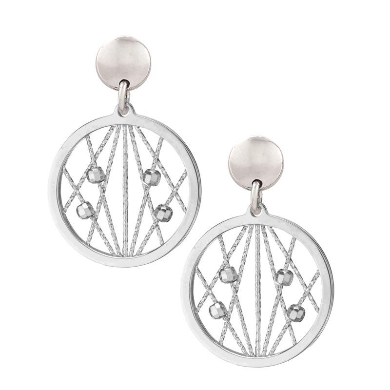 Bennett's Jewels Sterling Silver Milky Way Necklace