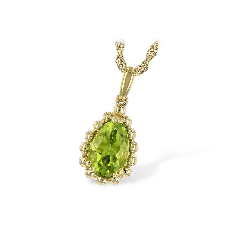 Bennett's Jewels 14KY Peridot Necklace