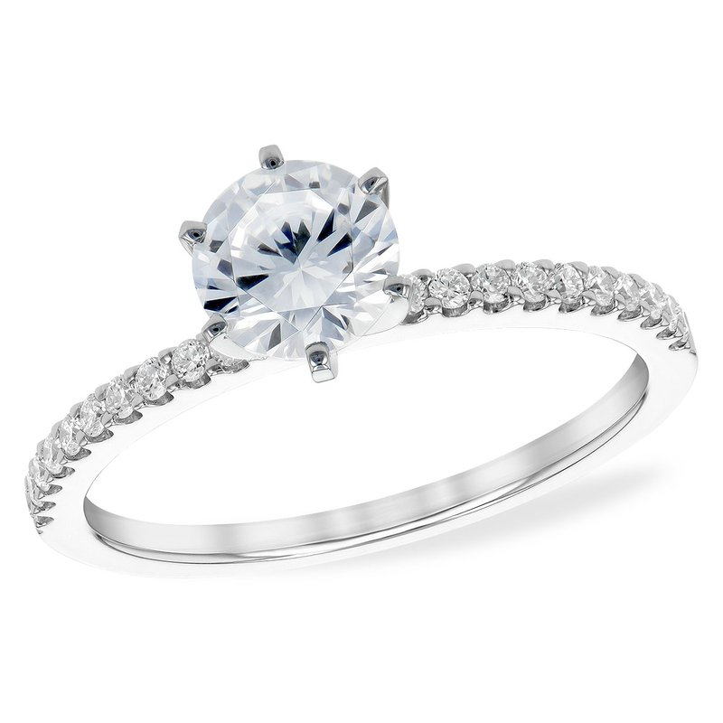Bennett's Jewels 14KW Diamond Engagement Ring