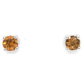 14KW Citrine Earrings