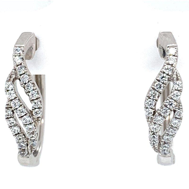 Bennett's Jewels Sterling Silver Hoops