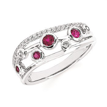 14KW Ruby Ring