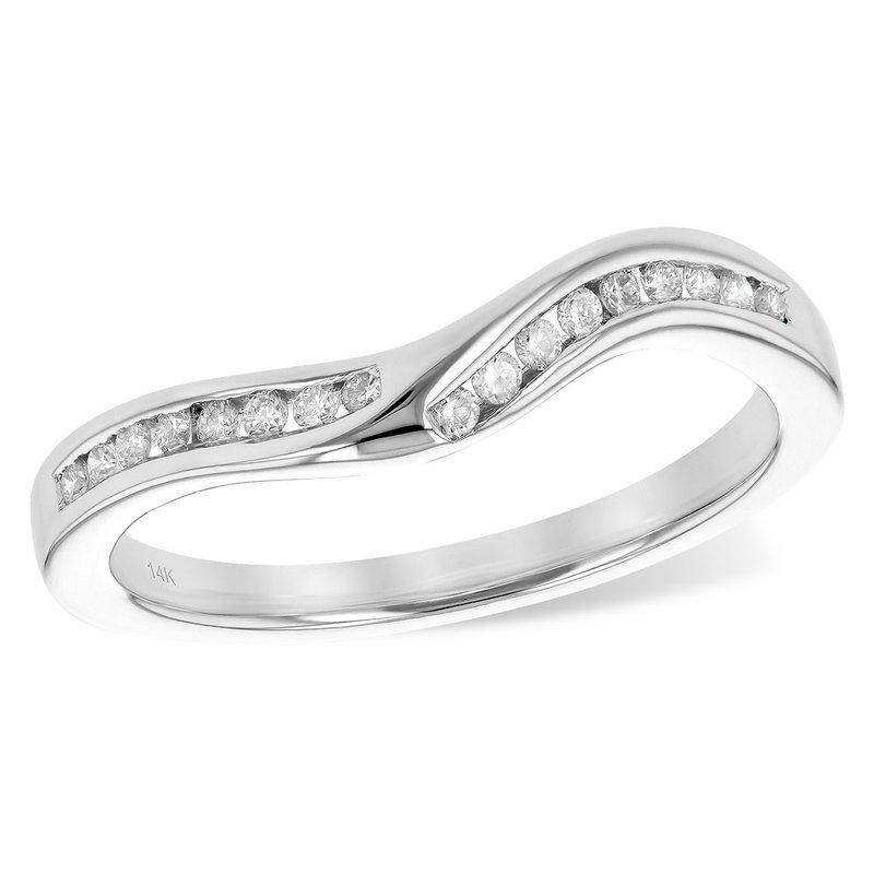 Allison-Kaufman 14KW Diamond Wedding Band