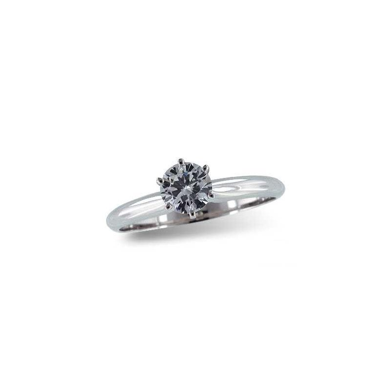 Bennett's Jewels 14KW Semi Mount Ring