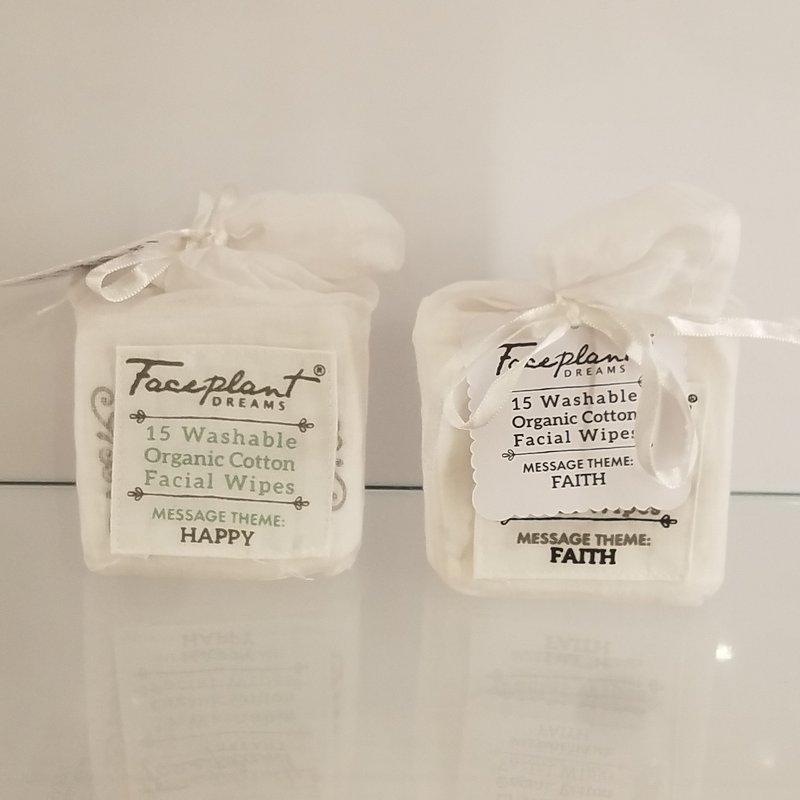 Ketterman's Favorites Faceplant Dreams Organic Reusable Facial Wipes