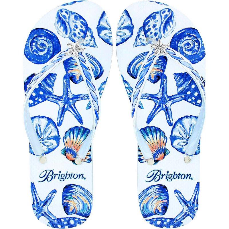 Brighton Shelly Flip Flops