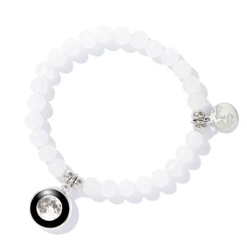 Beaded Bracelet in White