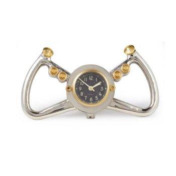 COCKPIT TABLE CLOCK ALUMINUM