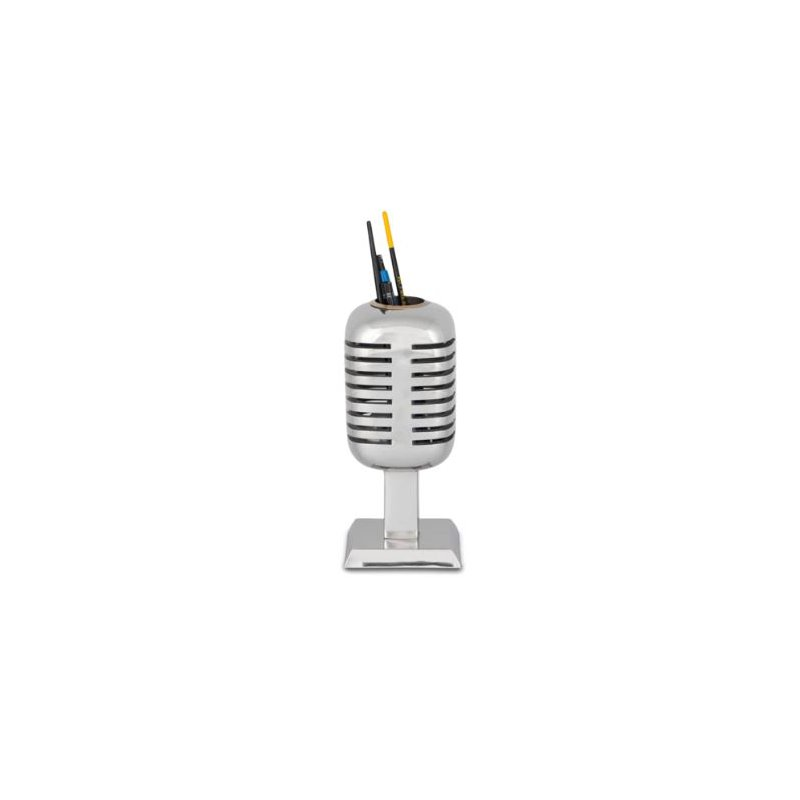 Pendulux MICROPHONE PENCIL HOLDER ALUMINUM
