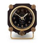 Pendulux ALTIMETER TABLE CLOCK BLACK