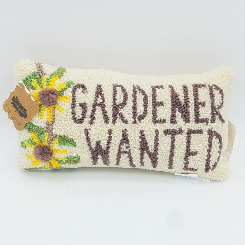 Ketterman's Favorites Mini Hooked Pillow