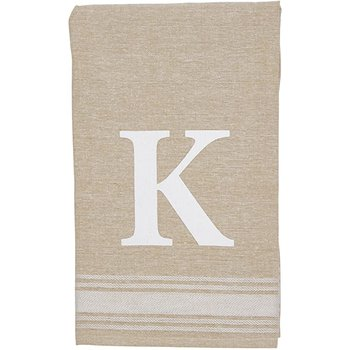 Grain Sack Initial Towel
