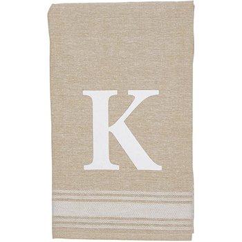 Grain Sack Initial Towel