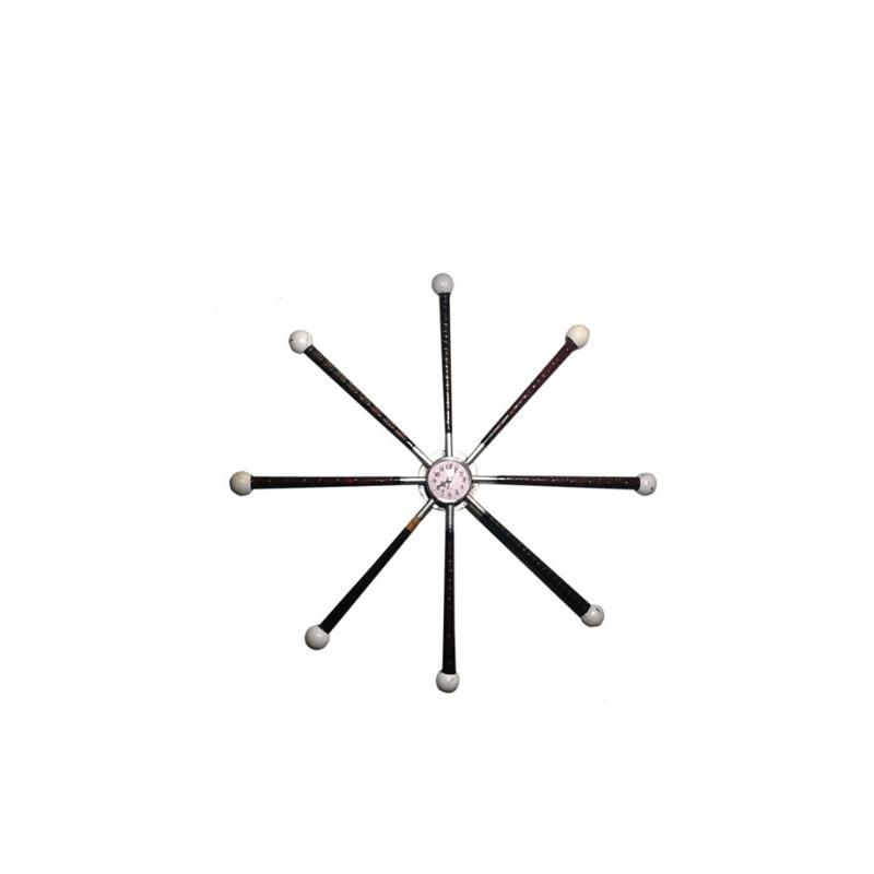 KetterMEN's Golf Grip Clock in Star Formation
