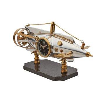 NAUTILUS TABLE CLOCK ALUMINUM
