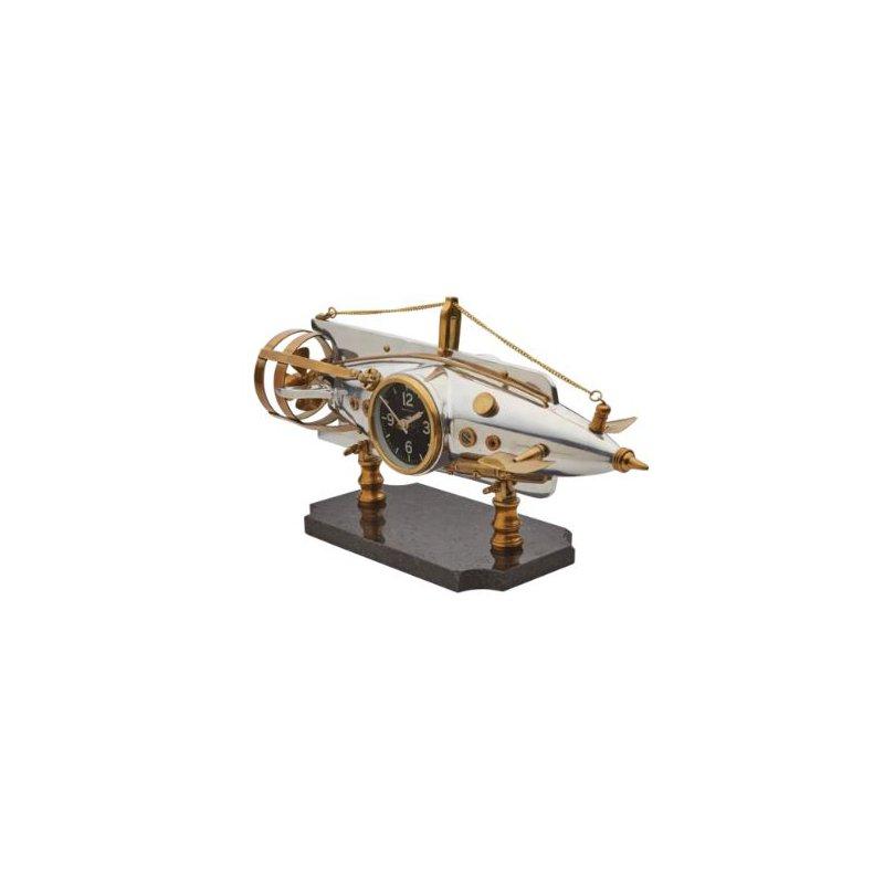 Pendulux NAUTILUS TABLE CLOCK ALUMINUM