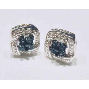 FOP Blue Diamond Studs