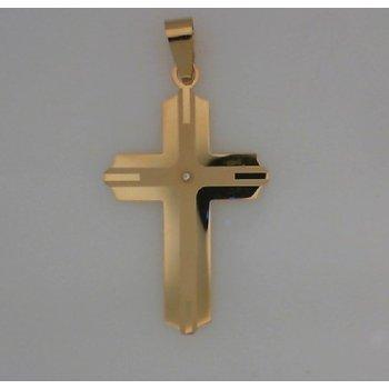 Cross Pendant With Cz