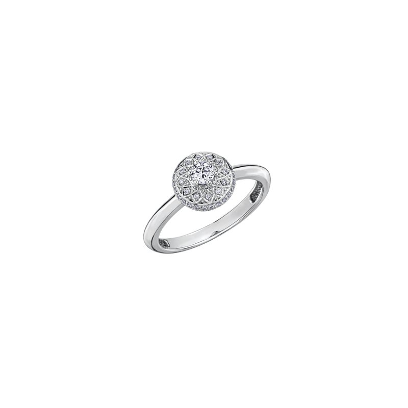 The Collection Diamond Halo Ring