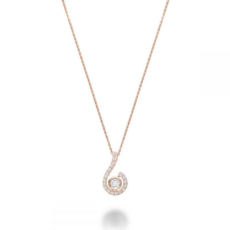 RNB Bijoux Jewellery Drop Diamond Pendant