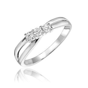 3 Stone Fashion Ring