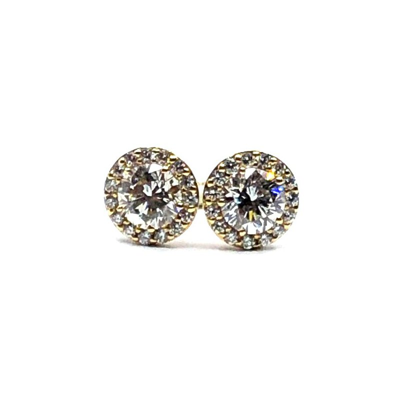 The Collection Diamond Stud Earrings