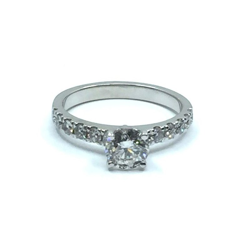 The Collection Diamond Engagement Ring