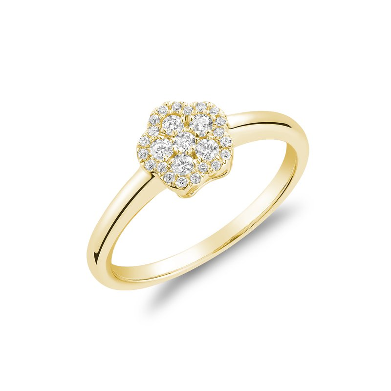 RNB Bijoux Jewellery Diamond Cluster Ring