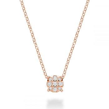 Illusion Diamond Pendant