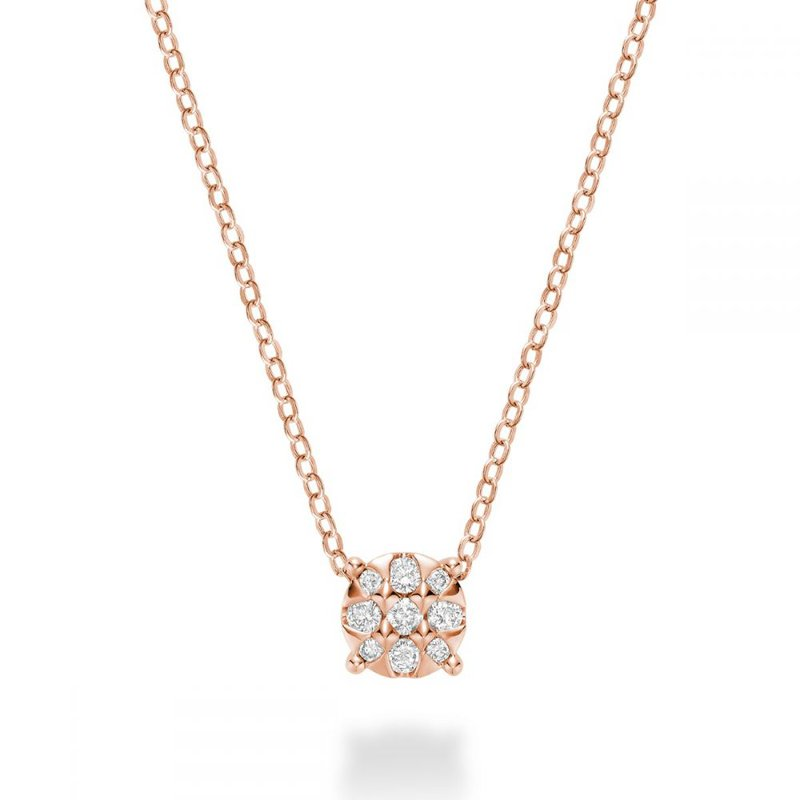RNB Bijoux Jewellery Illusion Diamond Pendant