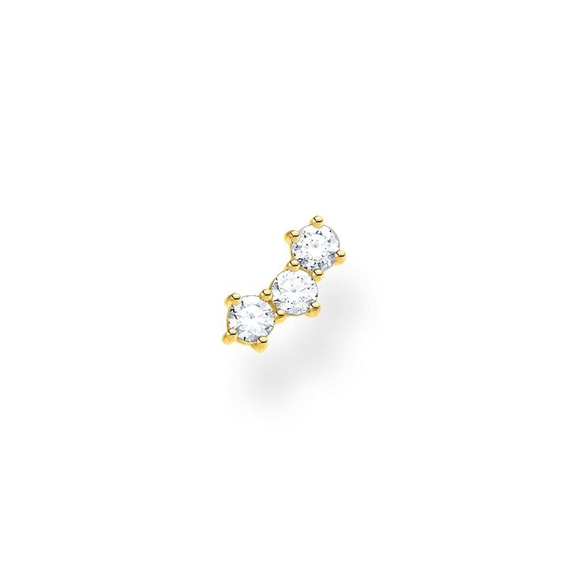 Thomas Sabo Single Earring Stud White Stones