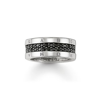 Classic Black Ring