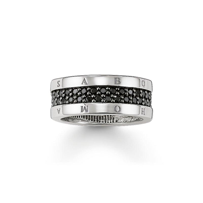Thomas Sabo Classic Black Ring