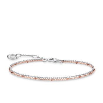 Double Rose Gold Bracelet