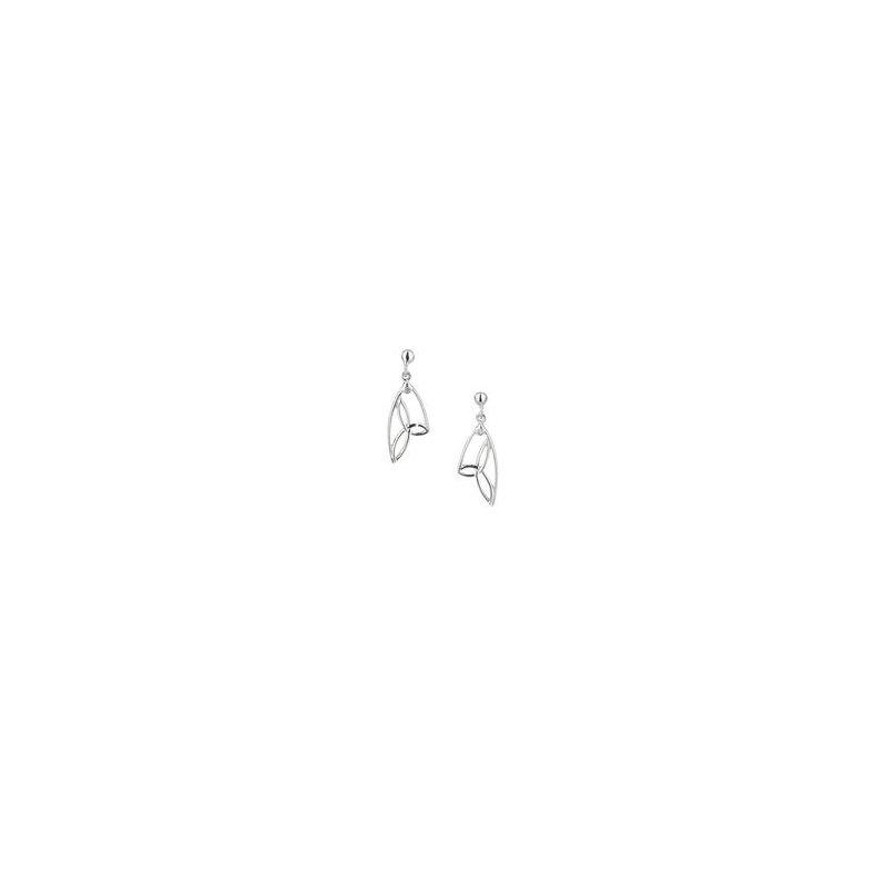 Keith Jack Butterfly Wing Trinity Earrings