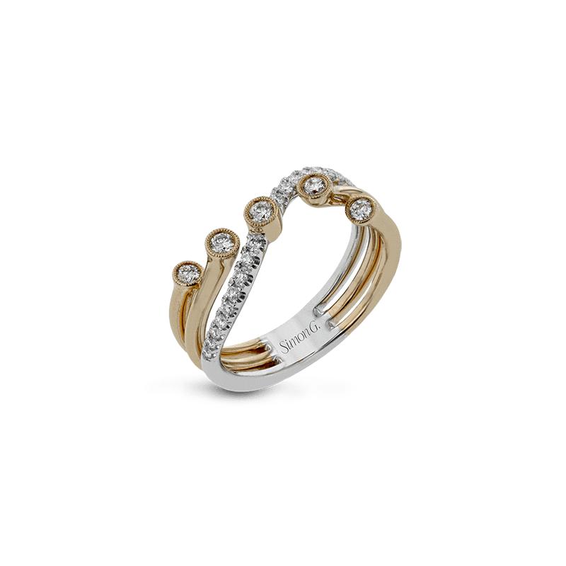 Simon G Clio Right Hand Ring