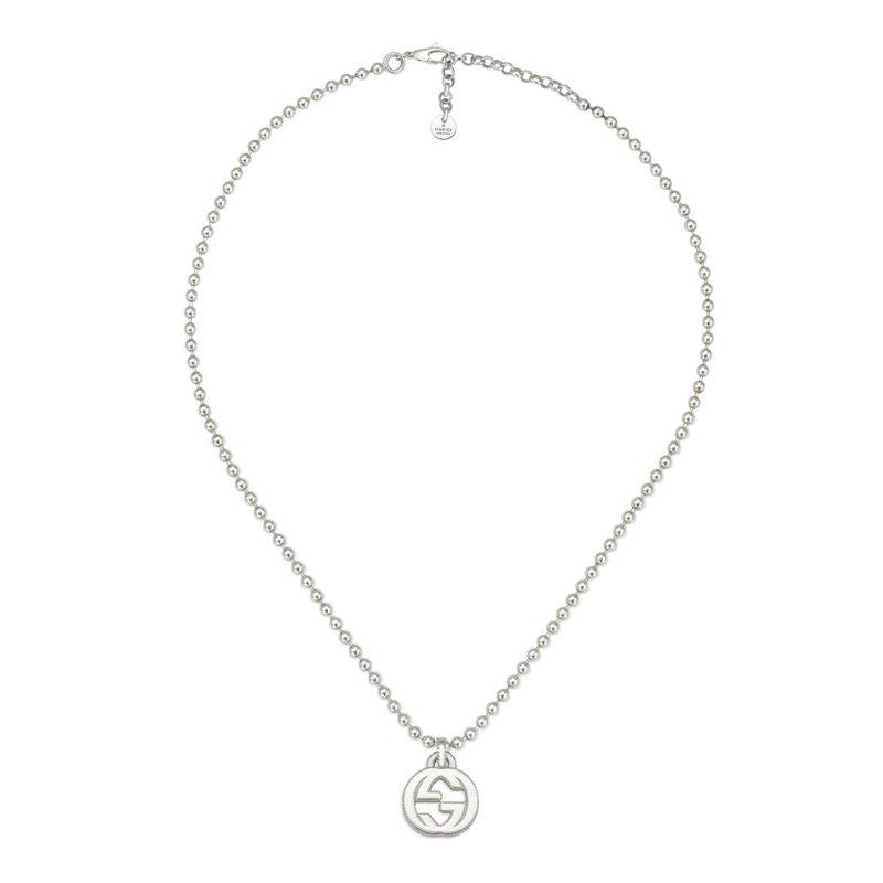 Gucci Jewellery Interlocking G necklace in silver