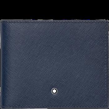 Sartorial Indigo Leather Wallet