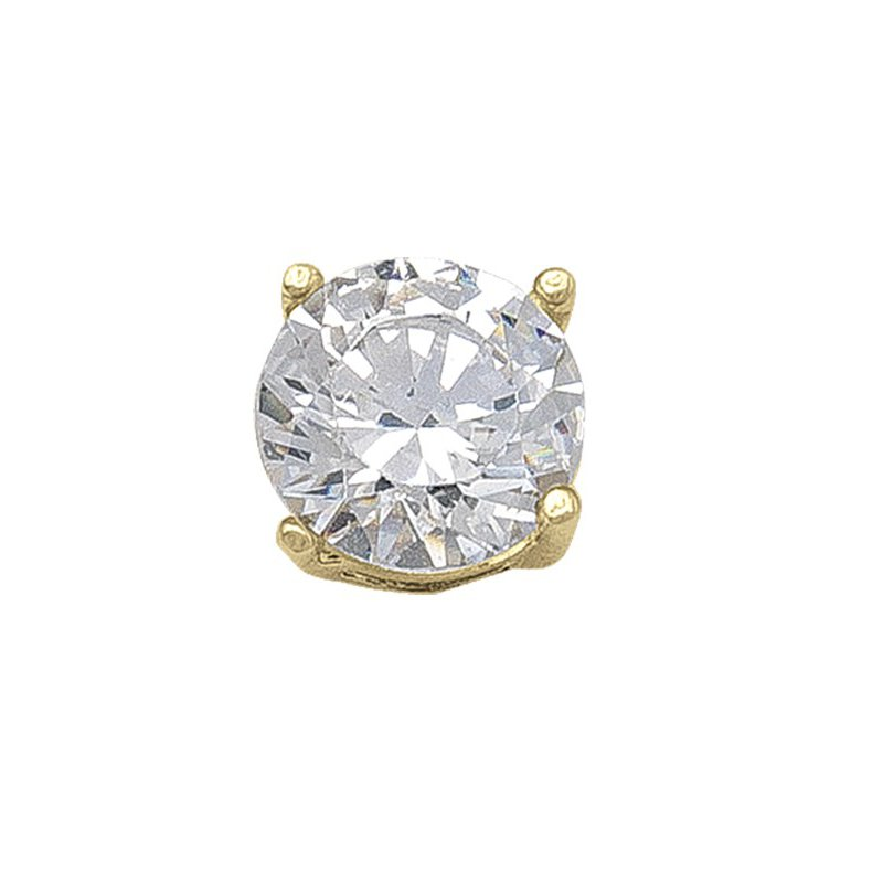 The Collection 6MM CZ Stud Earring
