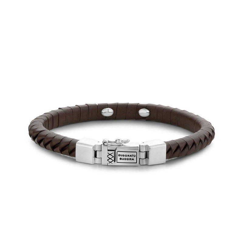 Buddha to Buddha Komang Small Brown Bracelet