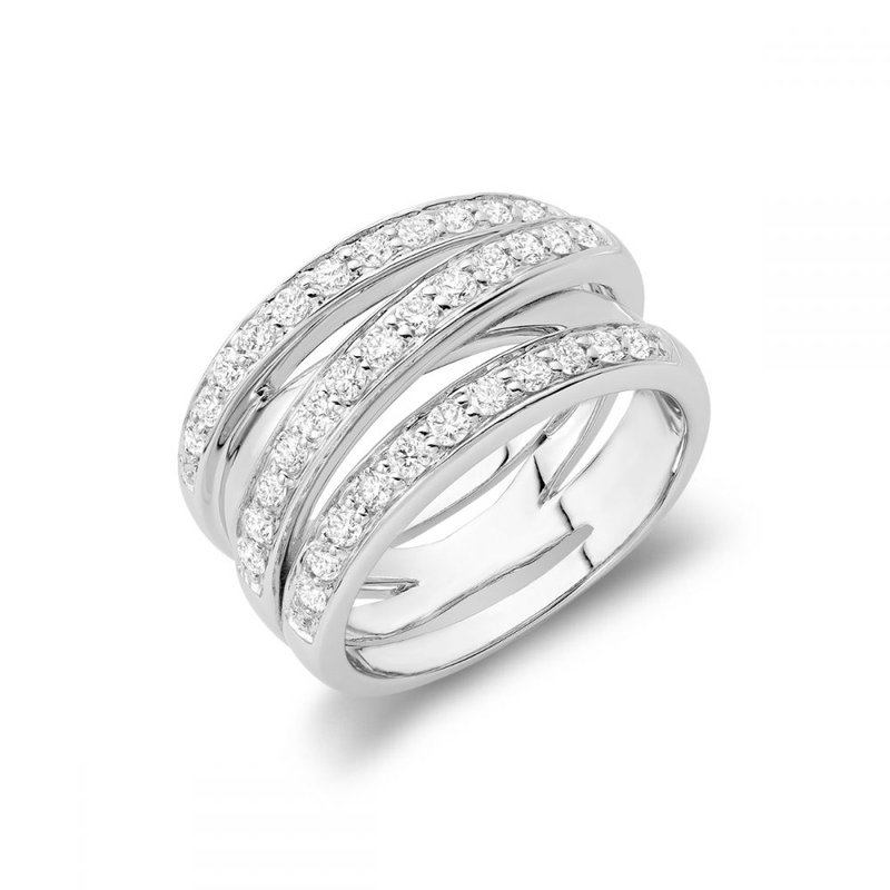RNB Bijoux Jewellery Diamond Wrap Ring