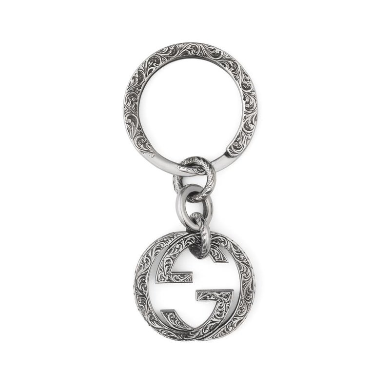 Gucci Jewellery Interlocking G Keychain