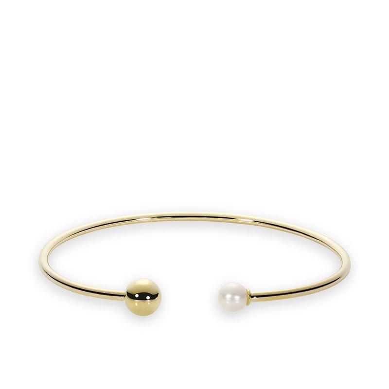 RNB Bijoux Jewellery Cultured Freshwater Pearl Bangle