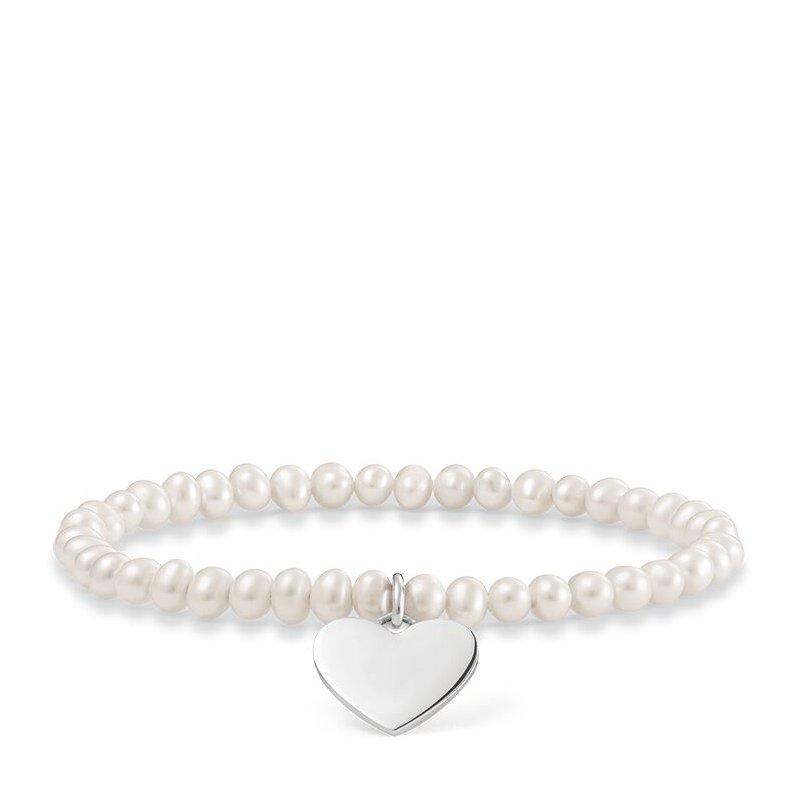 Thomas Sabo Pearl Heart Bracelet